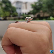 white gold engagement ring - diamondrensu