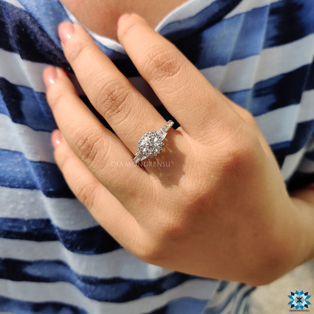 moissanite wedding rings - diamondrensu