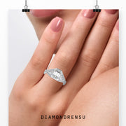 customized engagement ring - diamondrensu