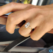 moval cut engagement ring - diamondrensu