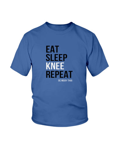 Eat, Sleep, KNEE, Repeat...BOOM! KIDS Tee