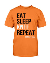 Load image into Gallery viewer, Eat, Sleep, KNEE, Repeat...BOOM! T-Shirt