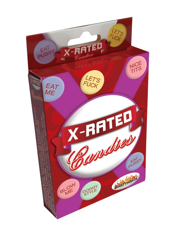 X-Rated Candies With Assorted Sayings