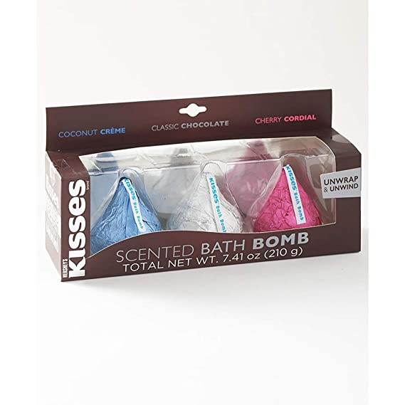 The Hershey's Kisses Bath Bomb. 3-Pc. Bath Bomb Set