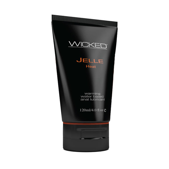 Wicked Jelle Anal Gel Warming Sensation Lubricant 4oz Tube
