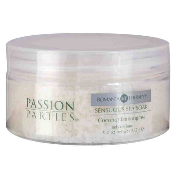 Passion Parties Sensuous Spa Soak-Coconut Lemongrass