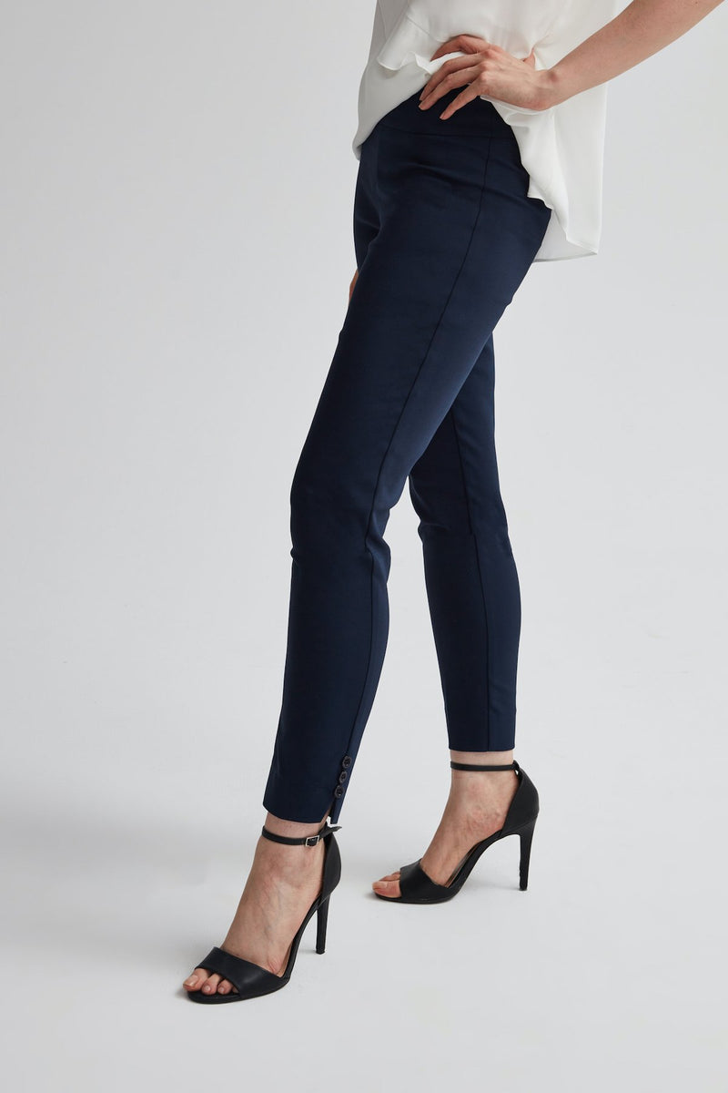 Perfect Fit Cotton Skinny Ankle Pant