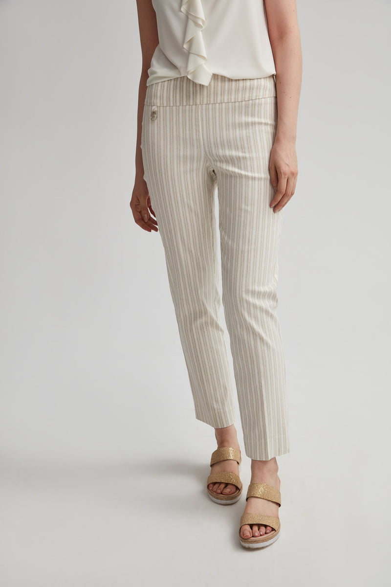 Perfect Fit Neutral Slim Leg Ankle Pant