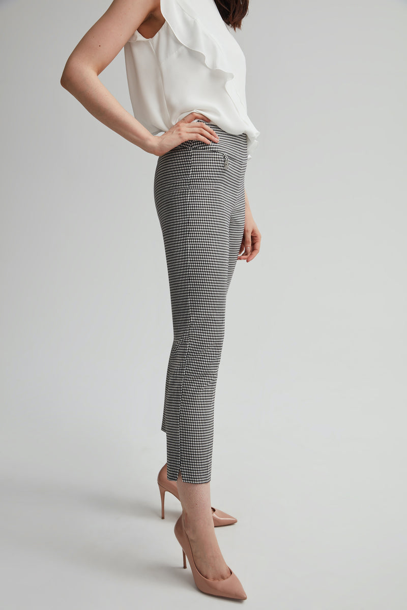 Perfect Fit Gingham Pant