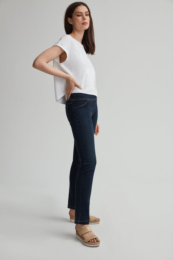 Perfect Fit Pull-on Blue Jean