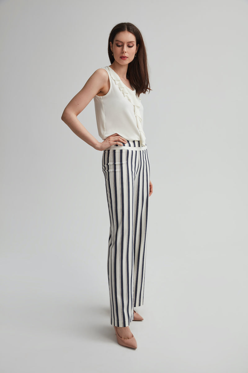 Pull on Wide Leg Pant