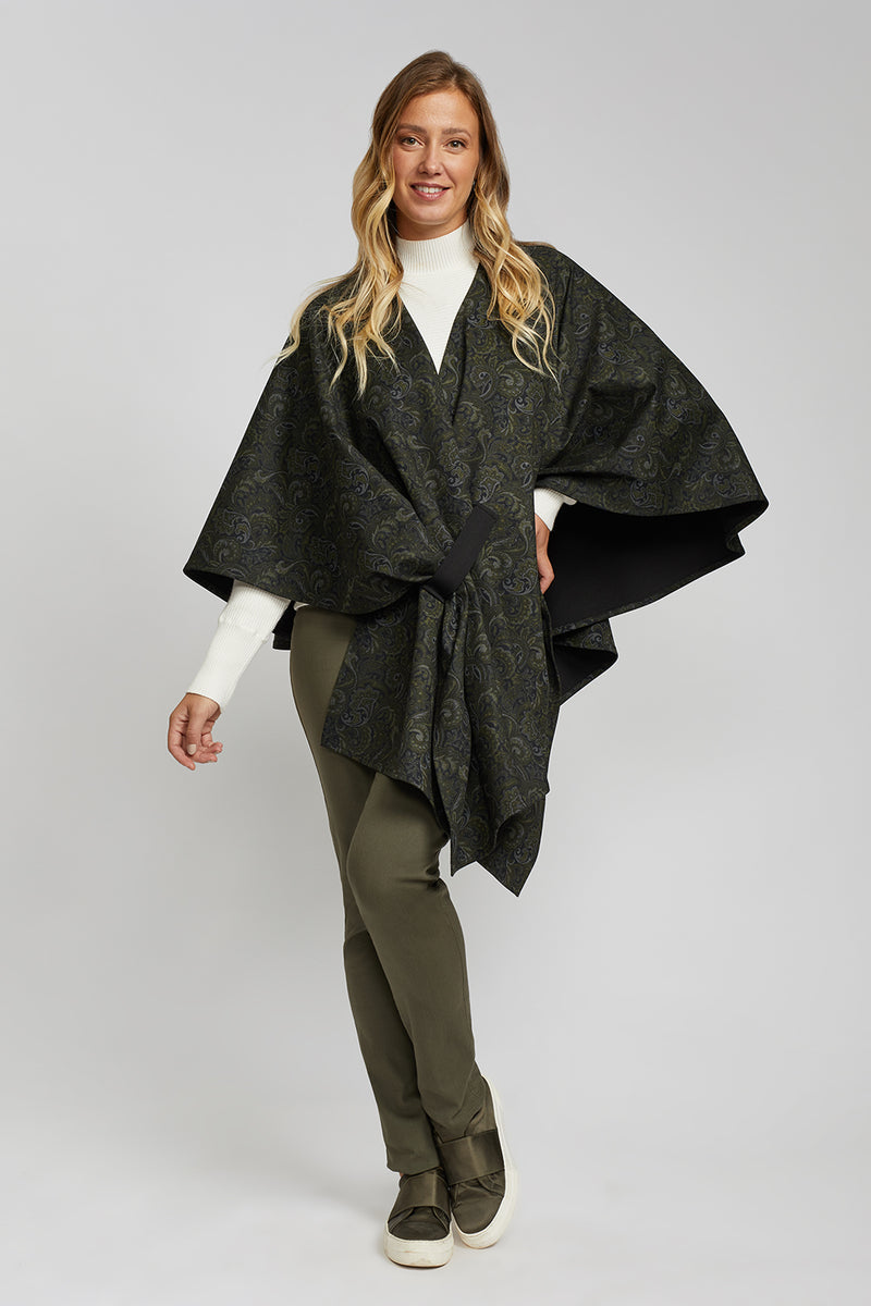 Crossover Paisley Cape