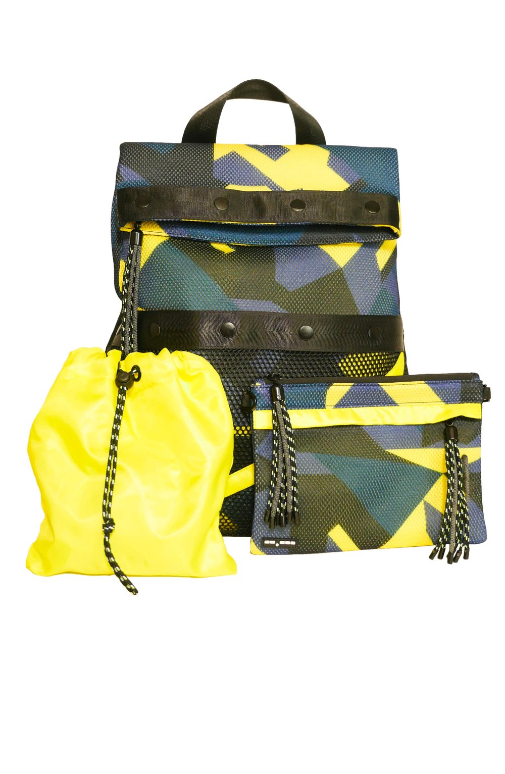 DASH PACK NAVY/YELLOW CAMO | GO DASH DOT