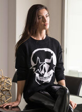 Load image into Gallery viewer, SKULL STAR - DROPPED SHOULDER SWEATER | CHRLDR