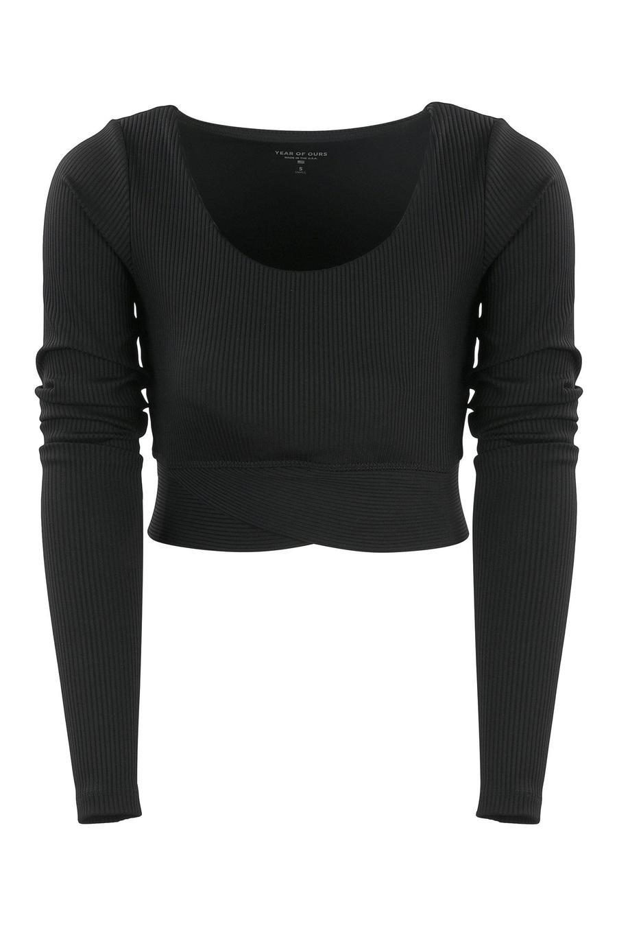 RIBBED CROP LONG SLEEVE | YEAR OF OURS