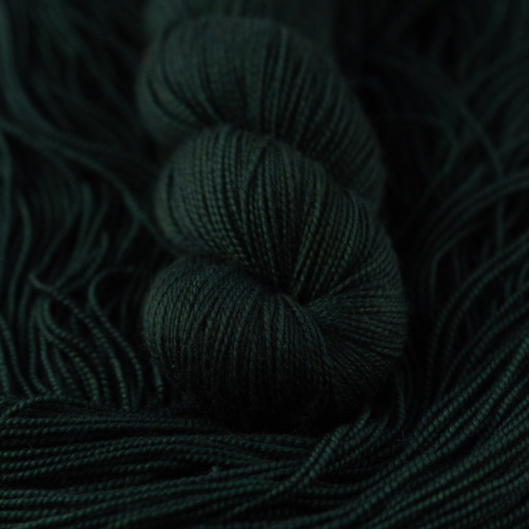 Chris's Pine Green (Merino Sock)