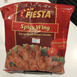 SPICY WING 500G FIESTA SRI/ ハラール手羽先