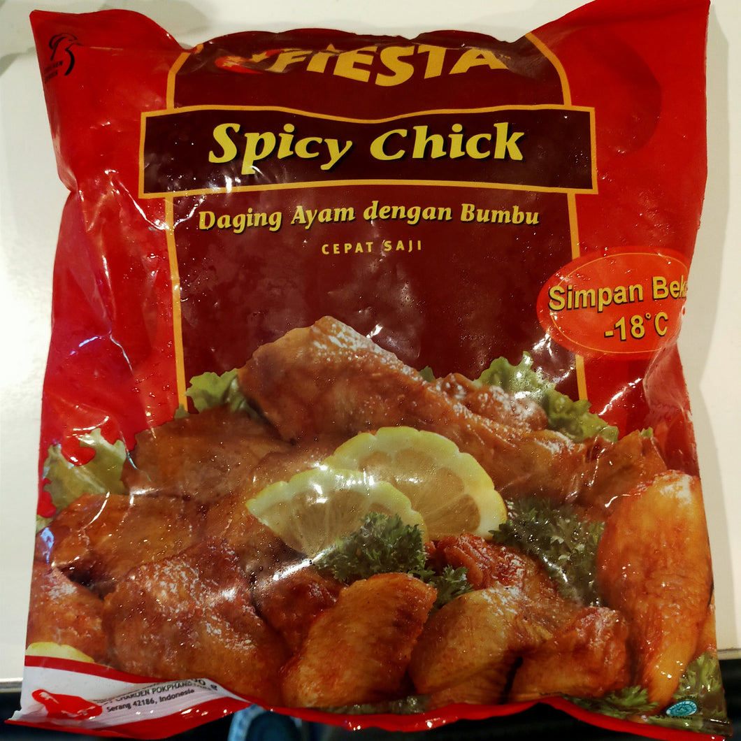 SPICY CHICK 500G FIESTA SRI/ スパイシー手羽先