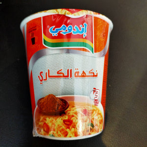 INDOMIE CUP(CURRY   FLAVOUR) / インドミーカップ麺(カレー味)