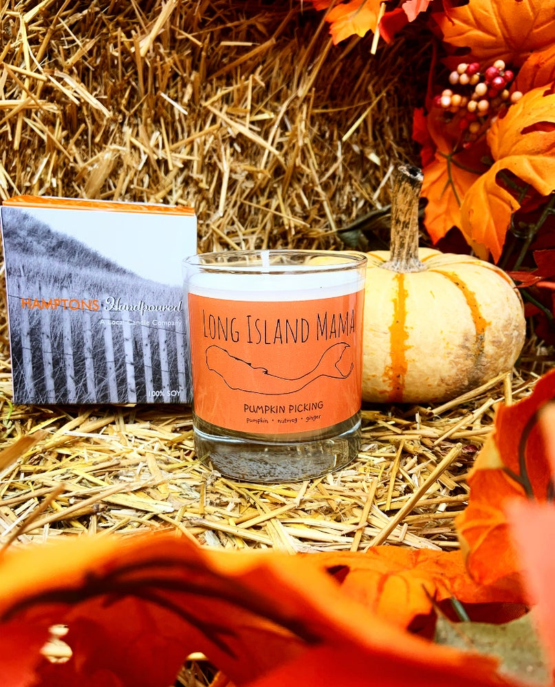 Long Island Mama Pumpkin Picking Candle