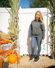 Load image into Gallery viewer, Long Island Mama Sweatshirt in Charcoal