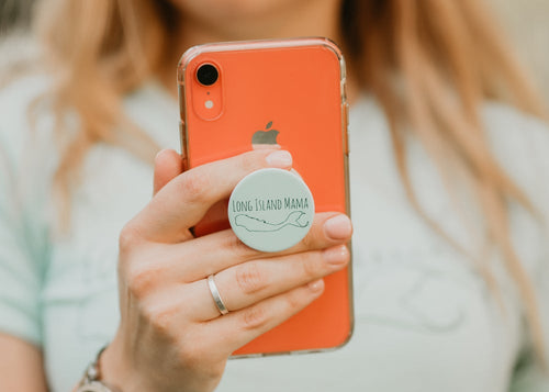 Long Island Mama Pop Socket