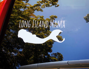 Long Island Mama Car Decal