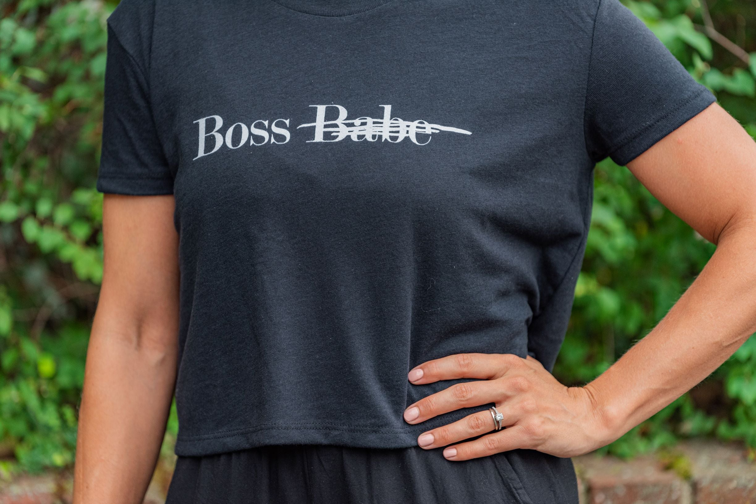 Boss Tee in Black