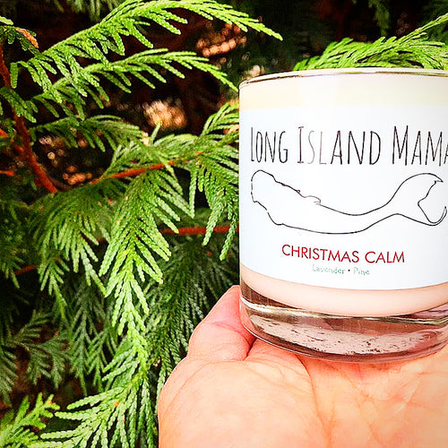 "Long Island Mama ""Christmas Calm"" by Hamptons Handpoured"