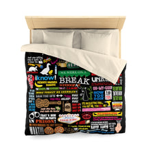 Load image into Gallery viewer, FRIENDs Quotes - Microfiber Duvet Cover