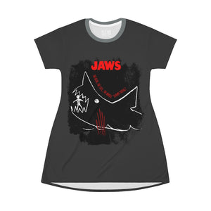 JAWs - The Whole Damn Thing - All Over Print T-Shirt Dress