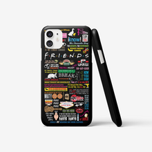 Load image into Gallery viewer, Friends Quotes - iPhone cases