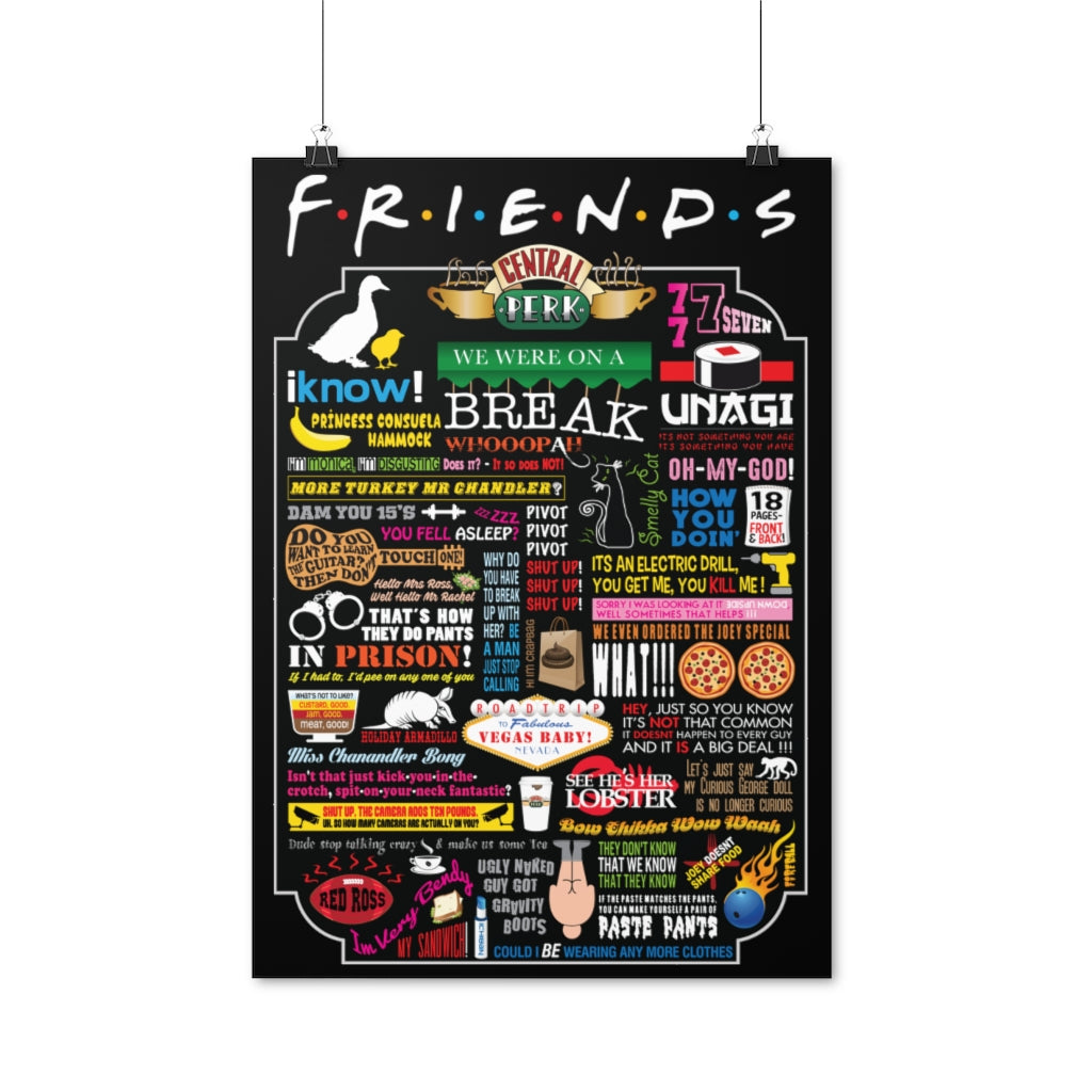 FRIENDs Quotes - Posters (EU)