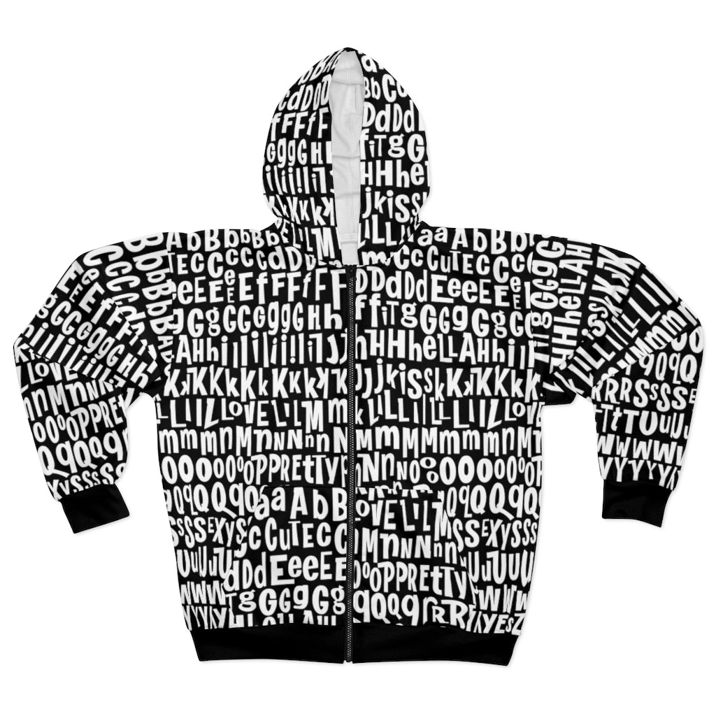 AL4BETTy - Unisex All-Over Print Zip Hoodie