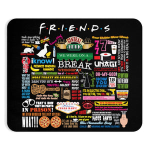 FRIENDs Quotes  - Mousepad