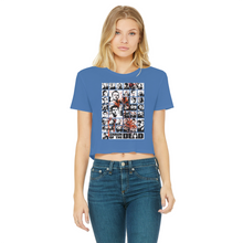 Load image into Gallery viewer, You've Got Red On You! - Classic Women's Cropped Raw Edge T-Shirt