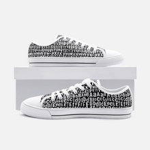 Load image into Gallery viewer, AL4BETTy - Women's Low Top Canvas Shoes