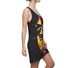 Load image into Gallery viewer, ONLY GOD CAN JUDGE ME - Women's Racerback Dress (abstract)