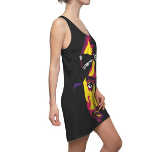 ONLY GOD CAN JUDGE ME - Women's Racerback Dress (abstract)