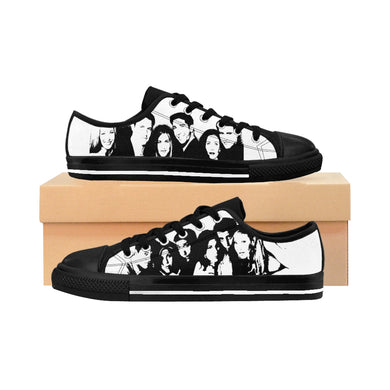 FRIENDs - Women's Canvas Sneakers