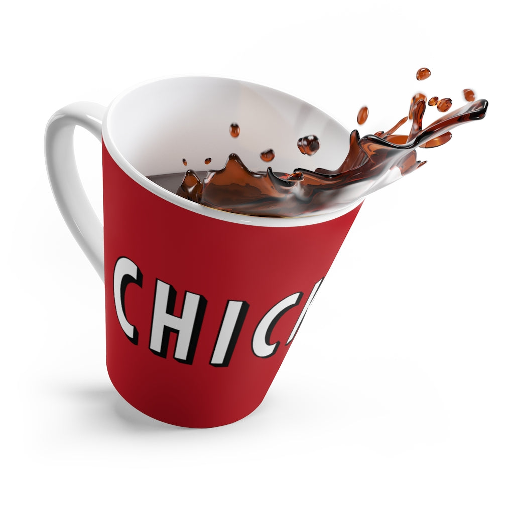 CHICKFLIx - Latte mug