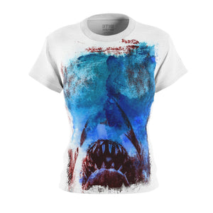 JAWs - 'There's something in the water!' | Women's All-Over Print T-Shirt