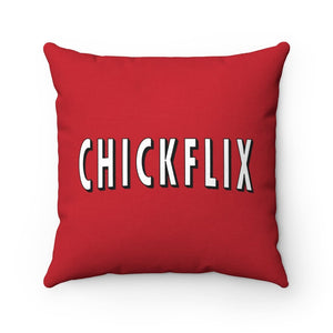CHICKFLIx - Square Pillow