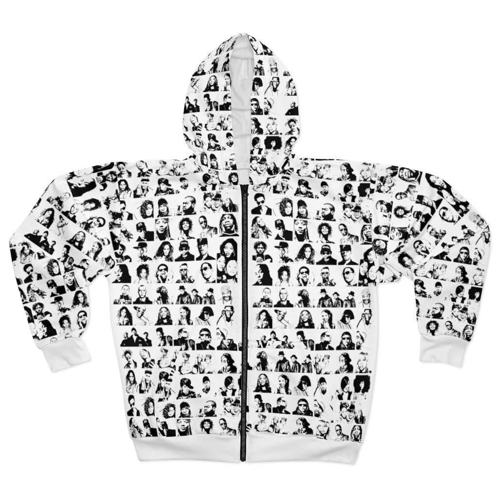 ICONz Hip Hop | Unisex All-Over Print Zip Hoodie