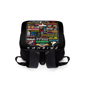 FRIENDs Quotes - Unisex Casual Shoulder Backpack