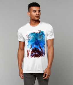 JAWs - 'Something in the Water' - Unisex Crew Neck T-Shirt