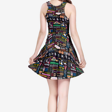 Load image into Gallery viewer, Friends Quotes - Women's Skater Dress
