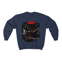 Load image into Gallery viewer, JAWs - The whole damn thing! - Unisex Crewneck Sweatshirt