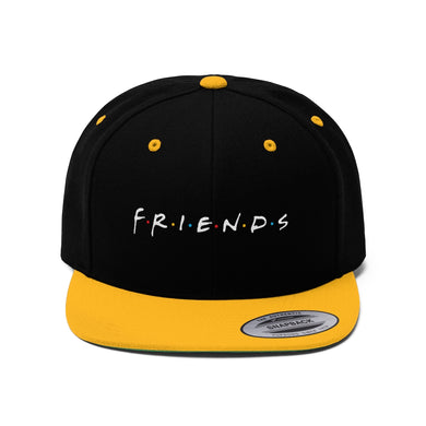 FRIENDs Quotes - 2-Tone Snapback Ca