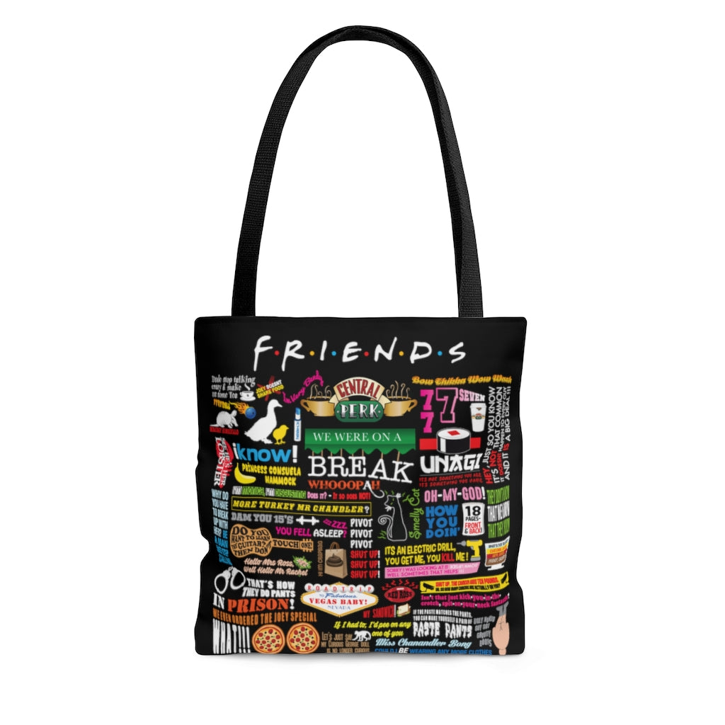 FRIENDs Quotes - Tote Bag